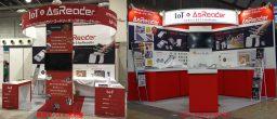 関西モバイル活用展とリテールテックのAsReaderブース
